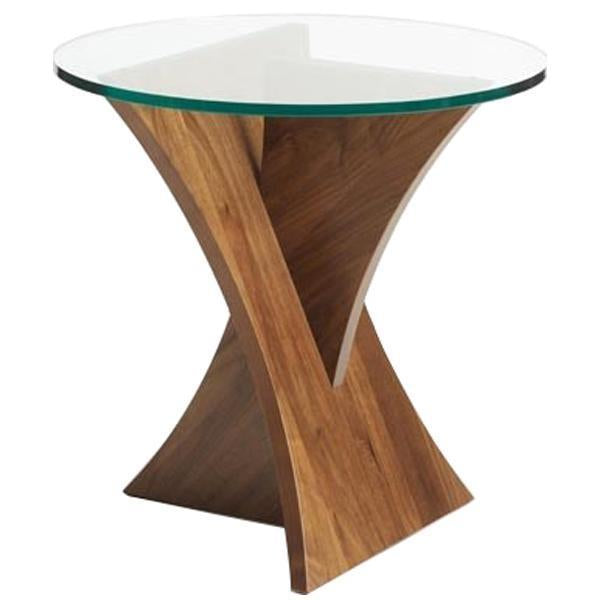 Copeland Furniture Statements Planes Round End Table
