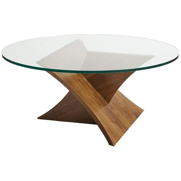 Copeland Furniture Statements Planes Round Coffee Table