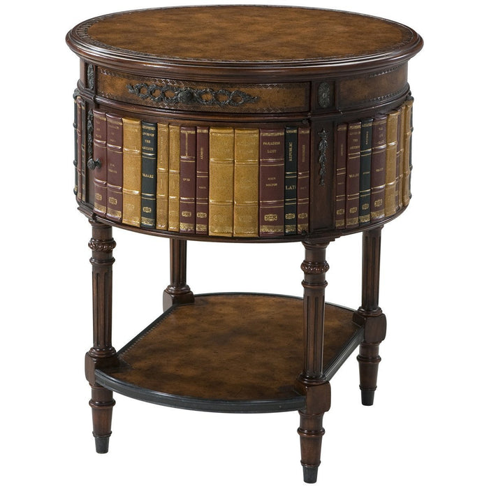 Theodore Alexander Essential Ta Louis Xvi Library Accent Table