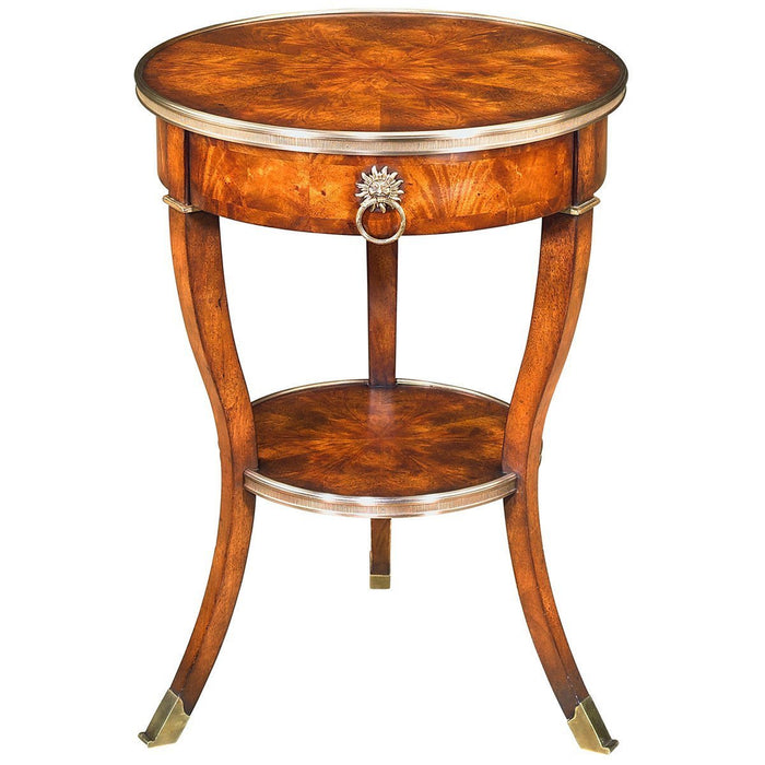 Theodore Alexander Essential Ta Around In Circles Accent Table