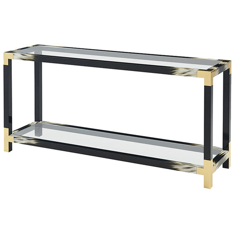 Theodore Alexander Cutting Edge Console Table