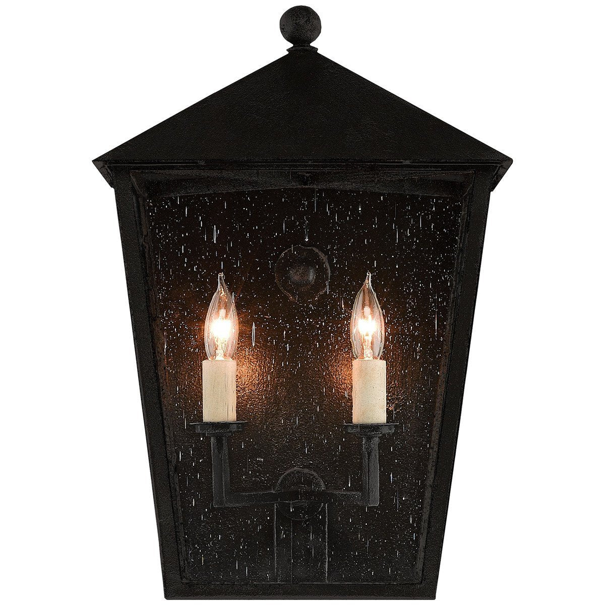 Currey and Company Bening Outdoor Wall Sconce - 2 Bulb