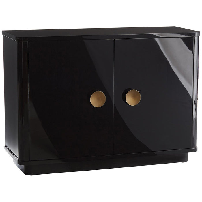 Arteriors Kennedy Chest - High Gloss Black Lacquer