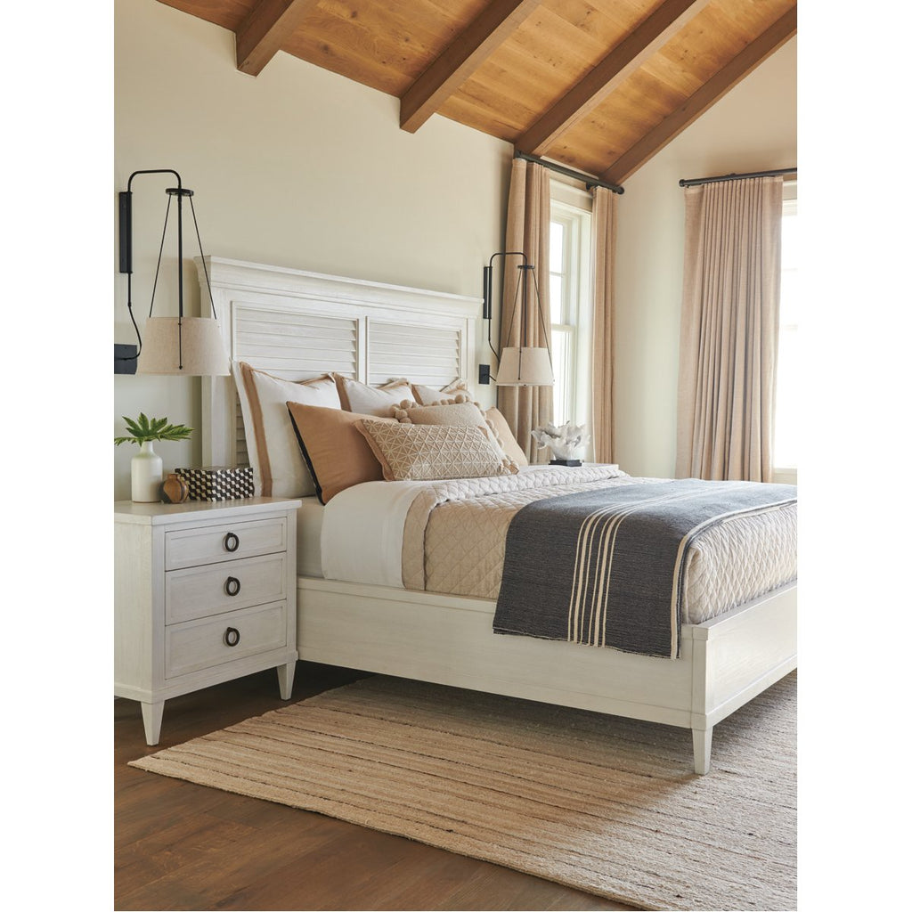 Tommy Bahama Ocean Breeze Royal Palm Louvered Bed