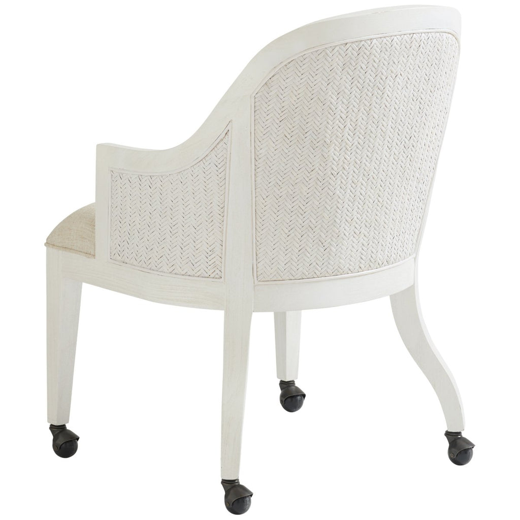 Tommy Bahama Ocean Breeze Bayview Arm Chair with Casters