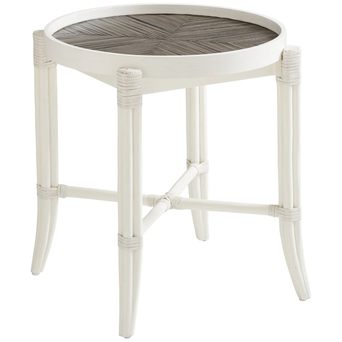 Tommy Bahama Ocean Breeze Neptune Round End Table