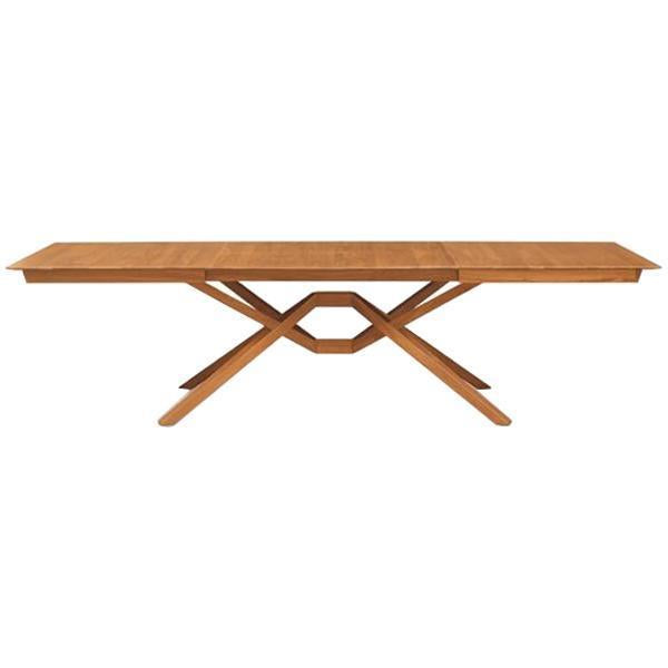 Copeland Furniture Exeter Double Leaf Extension Dining Table in Cherry