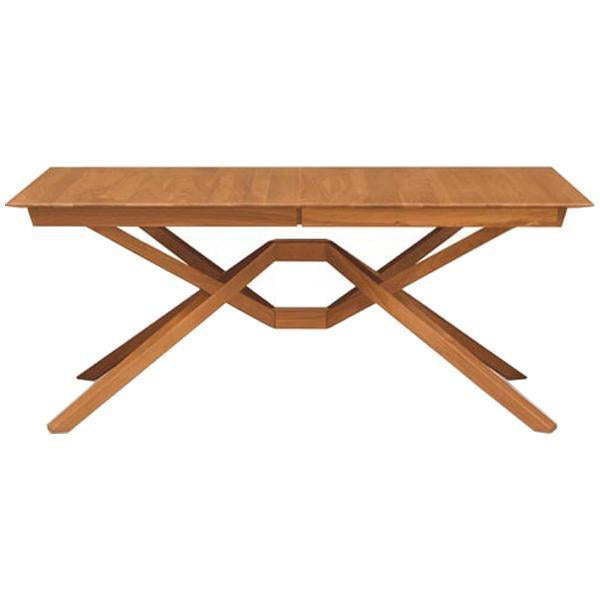 Copeland Furniture Exeter Single Leaf Extension Dining Table in Cherry
