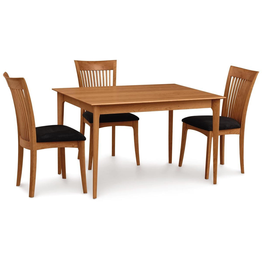 "Copeland Furniture Sarah 36"" x 48"" Four Legs Fixed Top Dining Table"