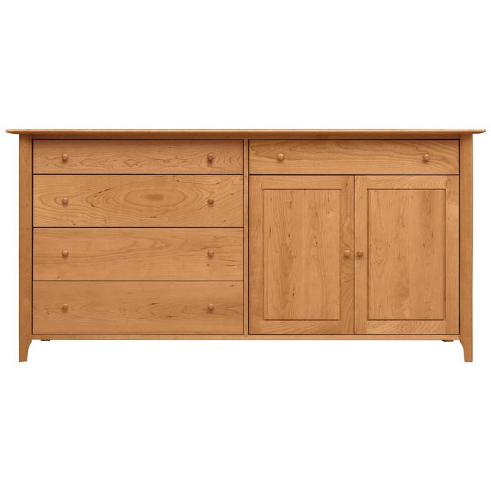 Copeland Furniture 4 Drawers, 1 Drawer Over 2 Doors on Right Buffet