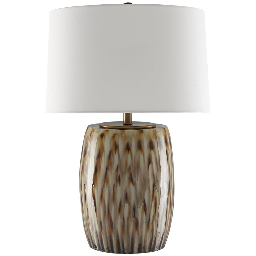 Currey and Company Milner Caramel Table Lamp