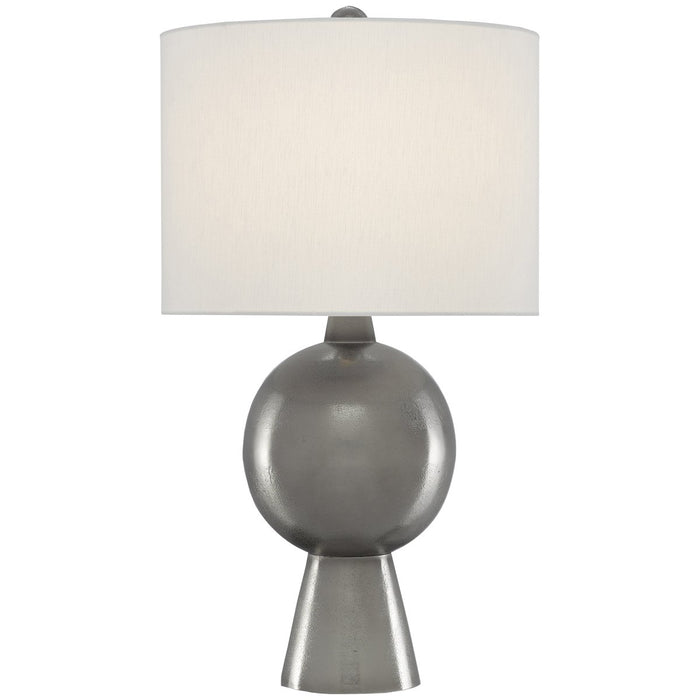 Currey and Company Rami Nickel Table Lamp
