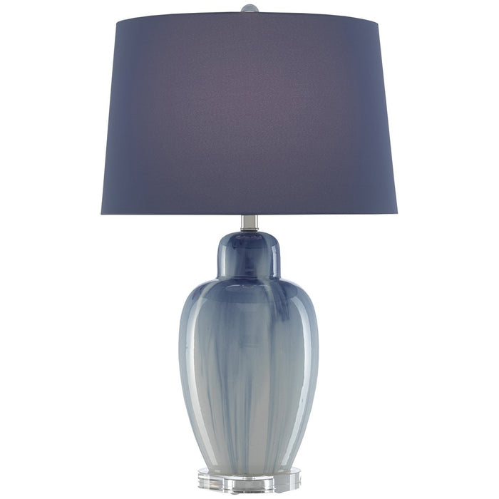 Currey and Company Solita Blue Table Lamp