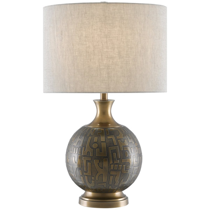 Currey and Company Mizmaze Table Lamp