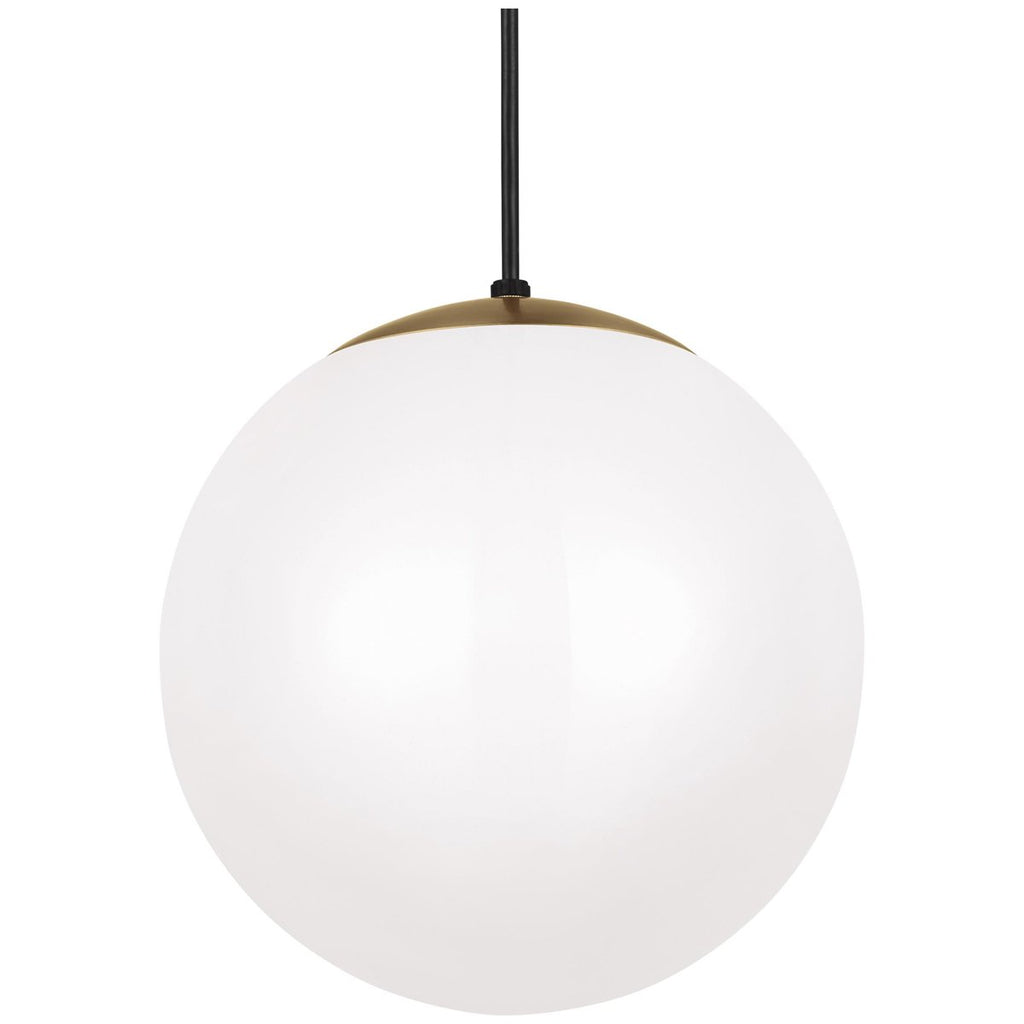 Sea Gull Lighting Leo - Hanging Globe 1-Light Pendant - 150W