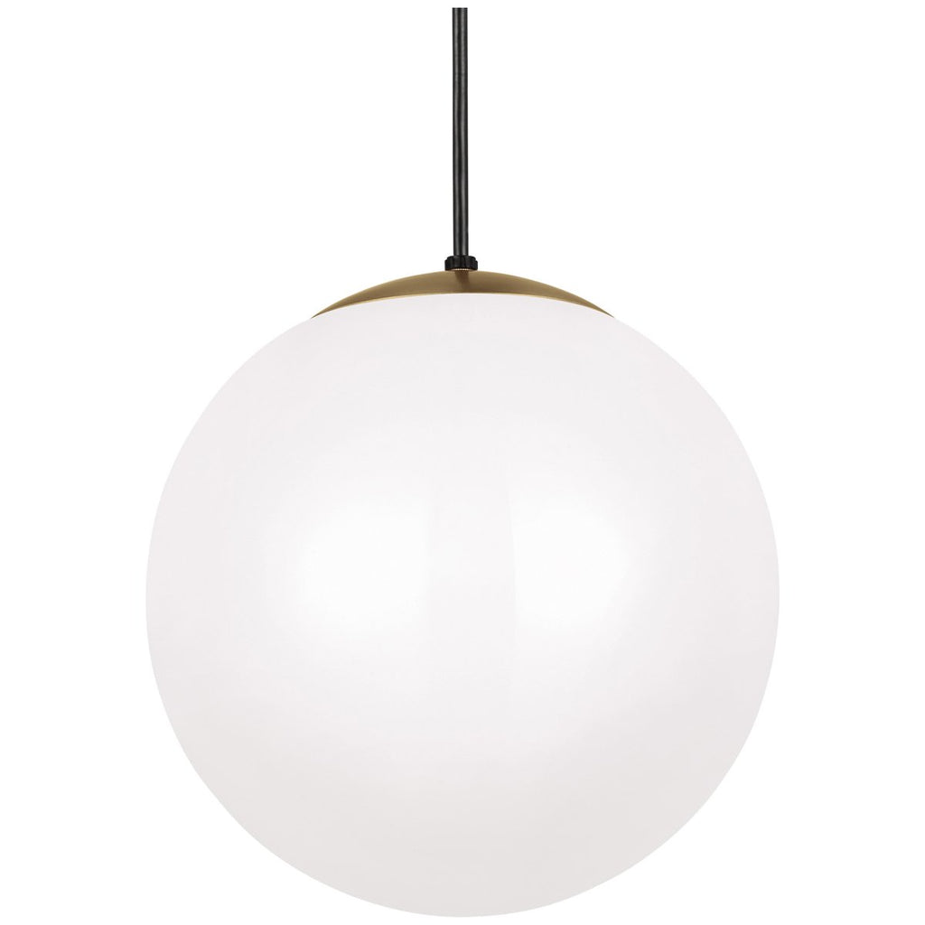 Sea Gull Lighting Leo - Hanging Globe 1-Light Pendant
