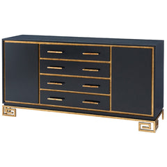 Theodore Alexander Large Inky Fascinate Cabinet