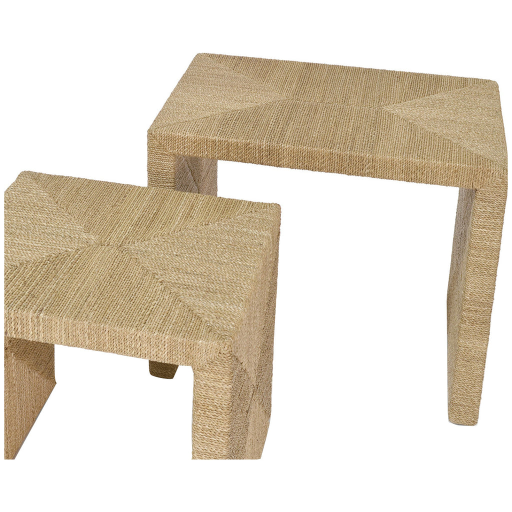 Palecek Woodside Nesting Tables Set Of 2 Nesting Tables Benjamin
