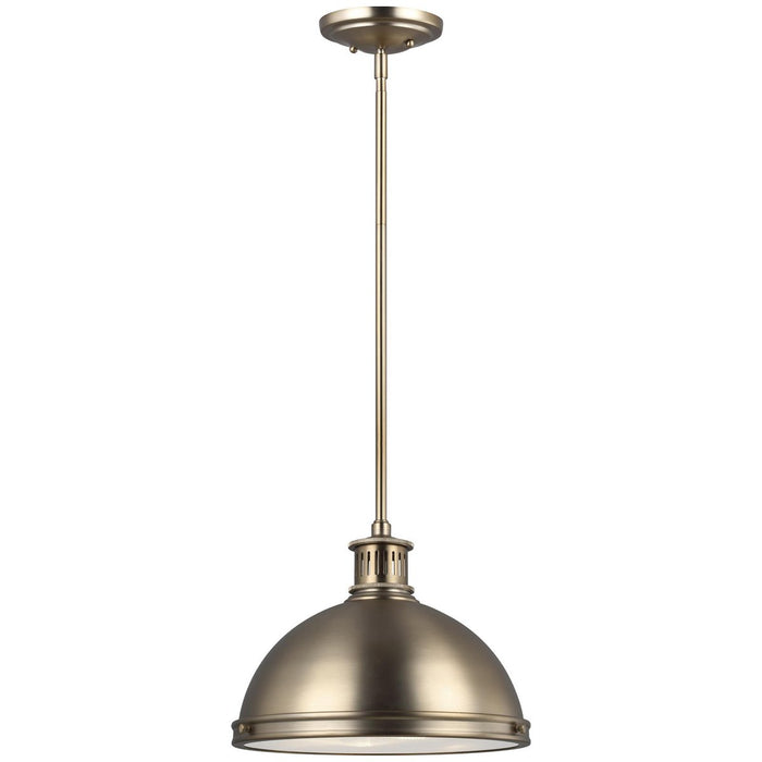 Sea Gull Lighting Pratt Street Metal 2-Light Pendant