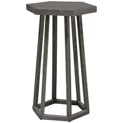 Palecek Indoor Outdoor Aria Hexagon Side Table