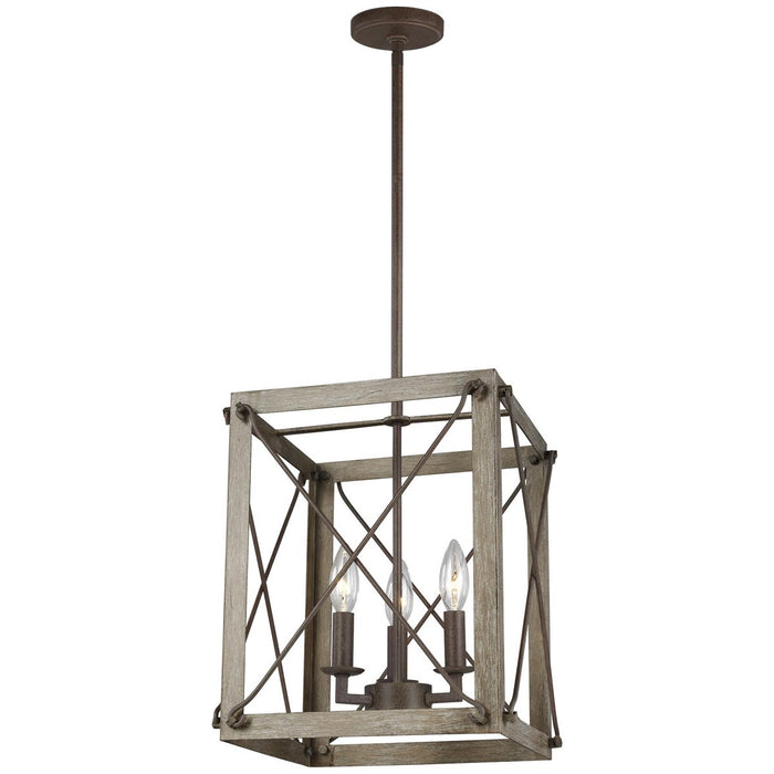 Sea Gull Lighting Thornwood Small 3-Light Hall/Foyer Light