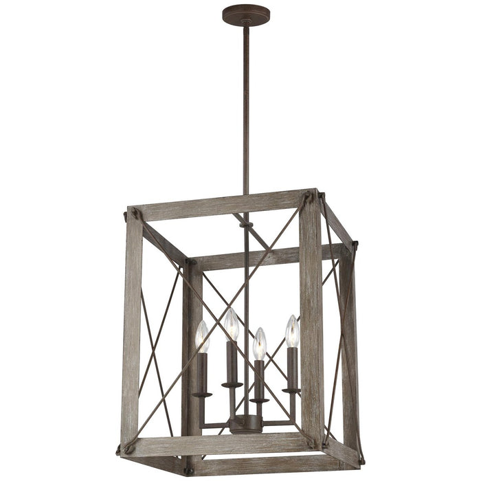 Sea Gull Lighting Thornwood Medium 4-Light Hall/Foyer Light