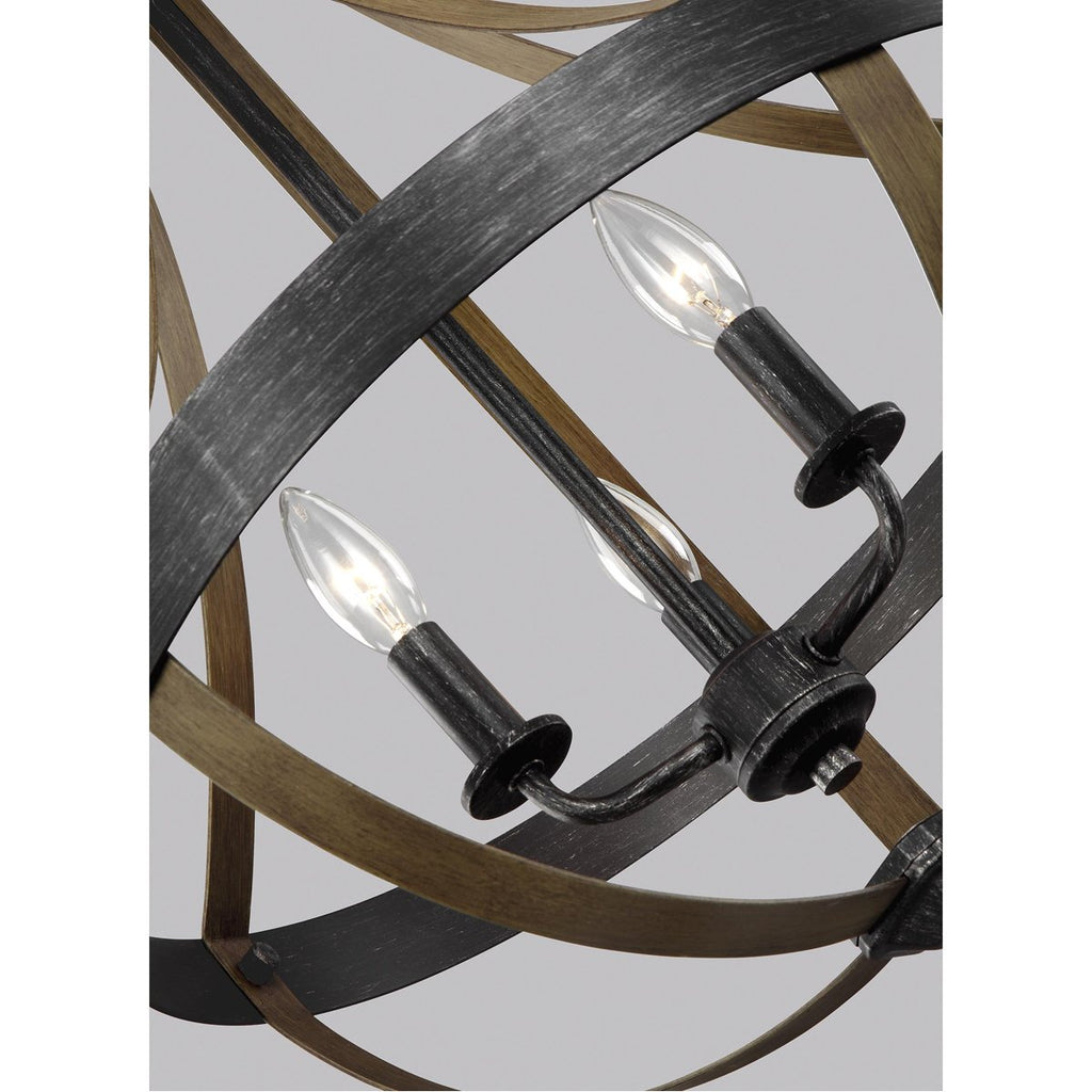 Sea Gull Lighting Davlin 3-Light Pendant - 3.5W