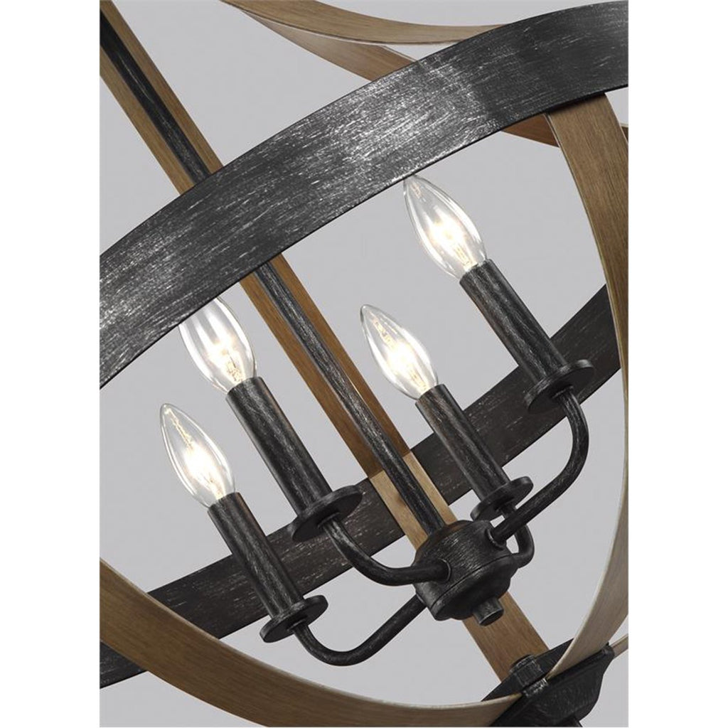 Sea Gull Lighting Davlin 4-Light Pendant - 3.5W
