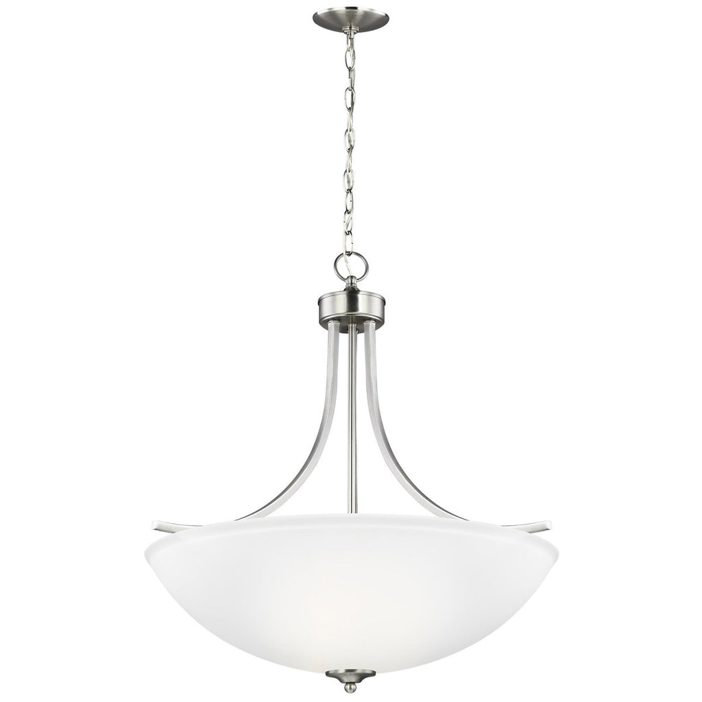 Sea Gull Lighting Geary Large 4-Light Pendant - 9.5W