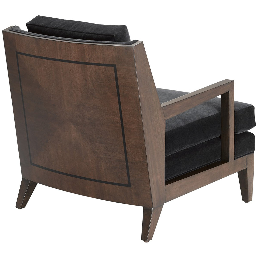 Currey and Company Andaz Ebony Chair