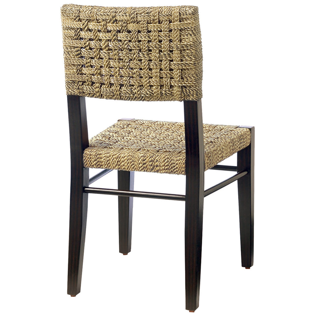 Palecek Panamawood Side Chair Dining Chairs Benjamin Rugs