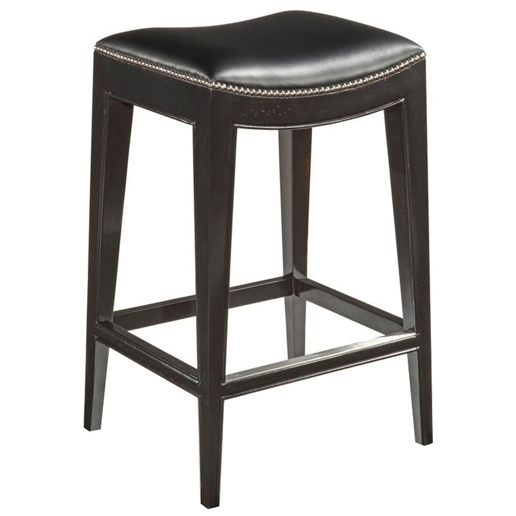 Woodbridge Furniture Leather Bar Stool