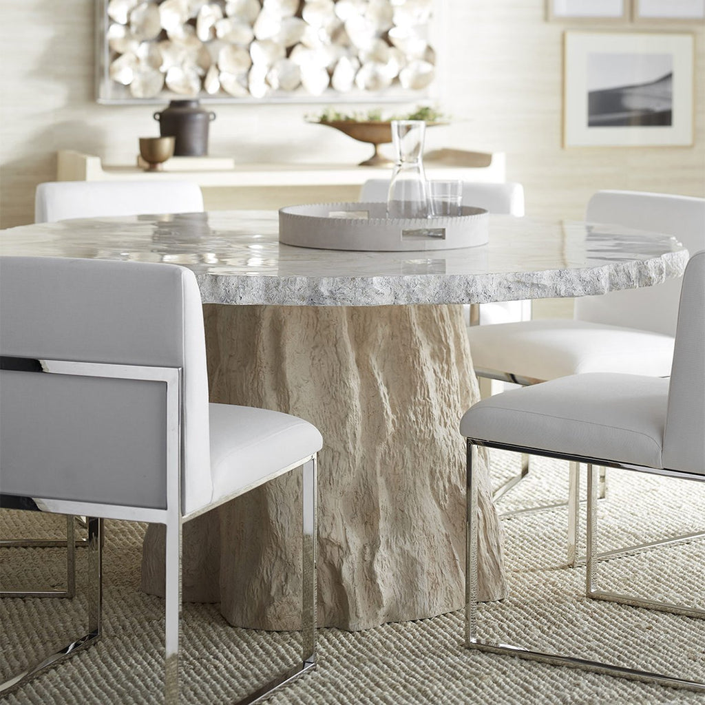 Palecek Camilla Fossilized Clam Dining Table