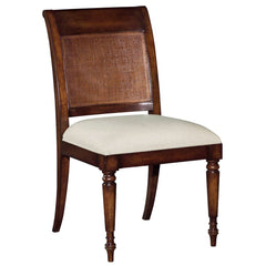Woodbridge Furniture Aged Mahogany Side Chair Set of 2