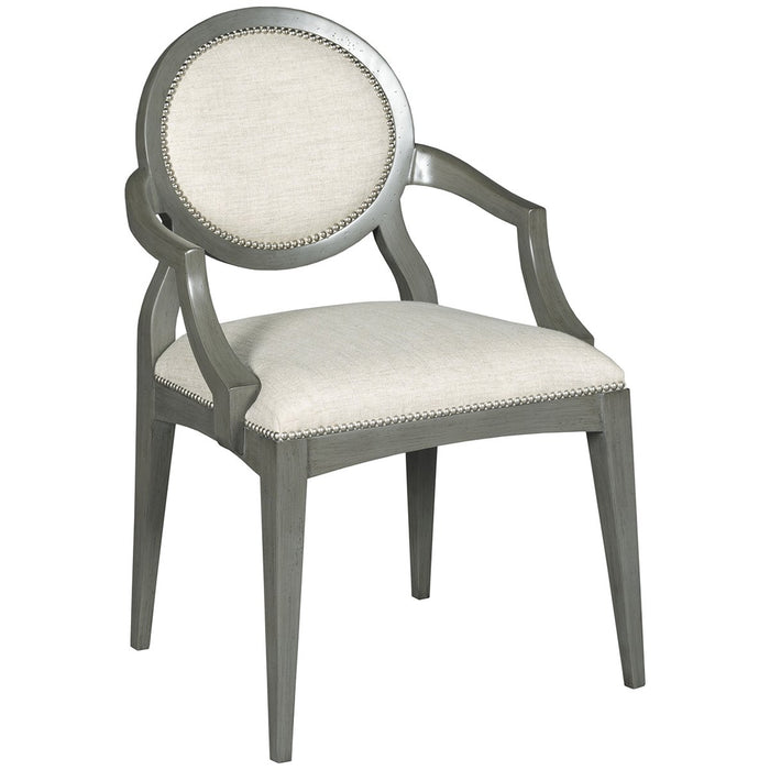 Woodbridge Furniture Ventura Oval Arm Chair