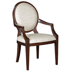 Woodbridge Furniture Oval Back Arm Chair