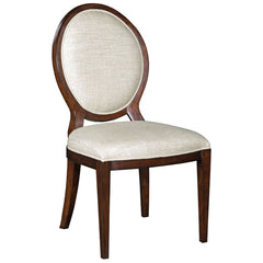 Woodbridge Furniture Oval Back Side Chair Set of 2