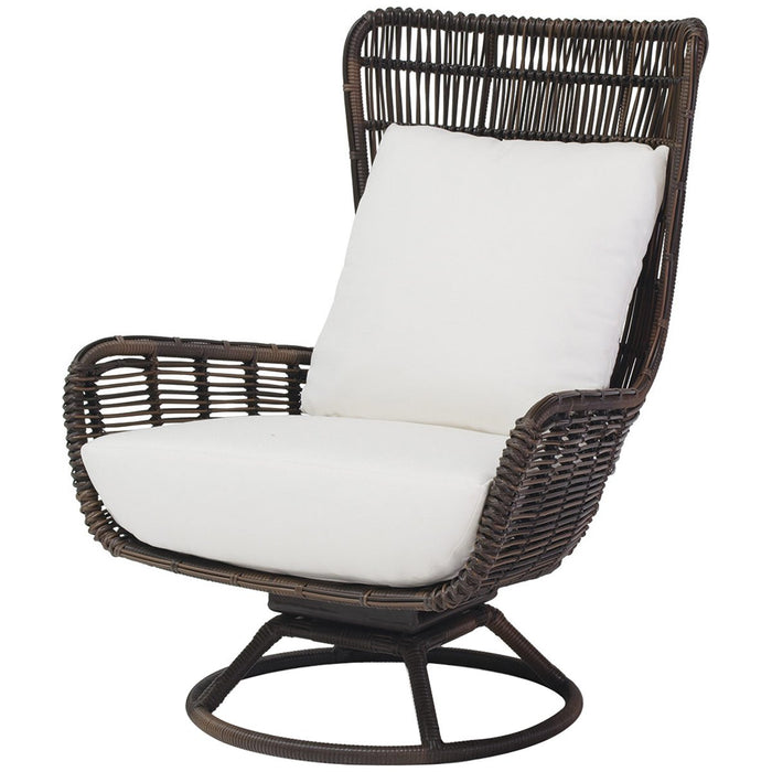 Palecek Sorrento Outdoor Swivel Lounge Chair