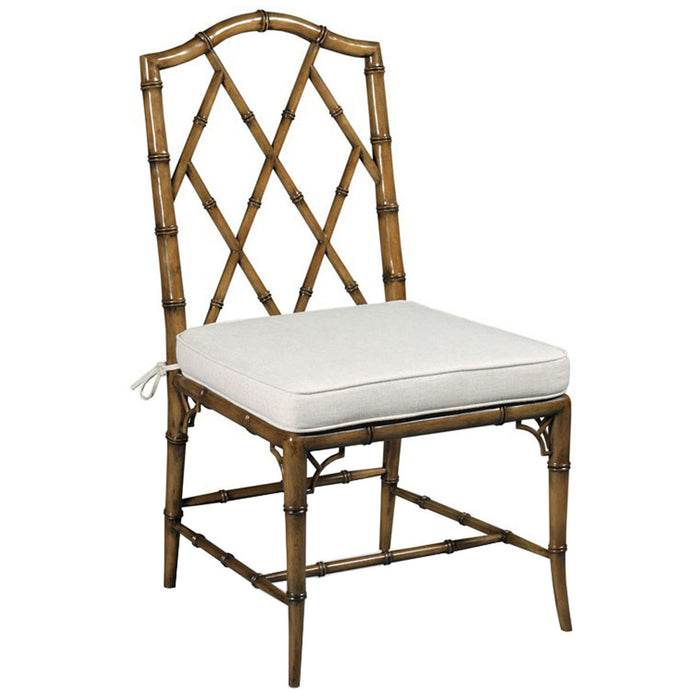 Woodbridge Furniture Faux Bamboo Side Chair, Set of 2