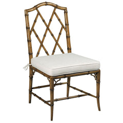 Woodbridge Furniture Faux Bamboo Side Chair