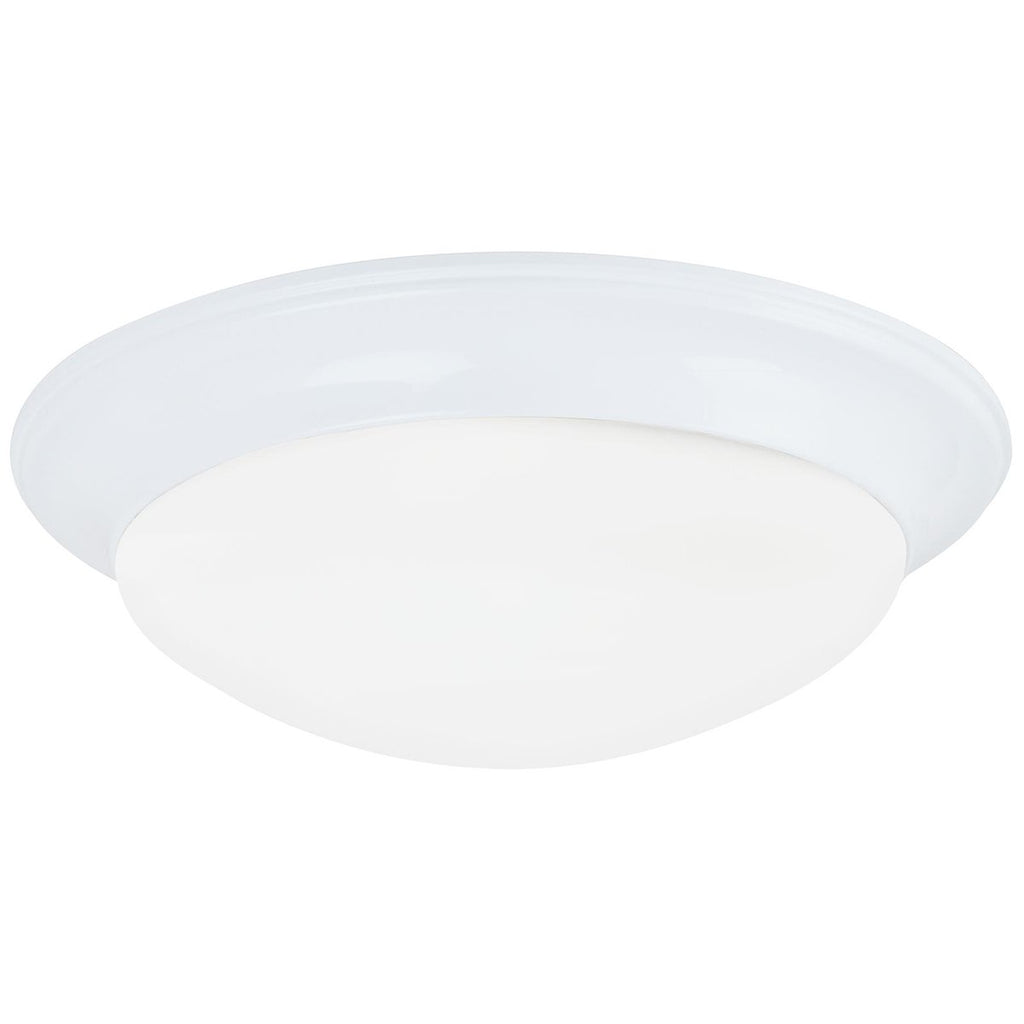 Sea Gull Lighting Nash Contemporary Two Lights Ceiling Flush Mount