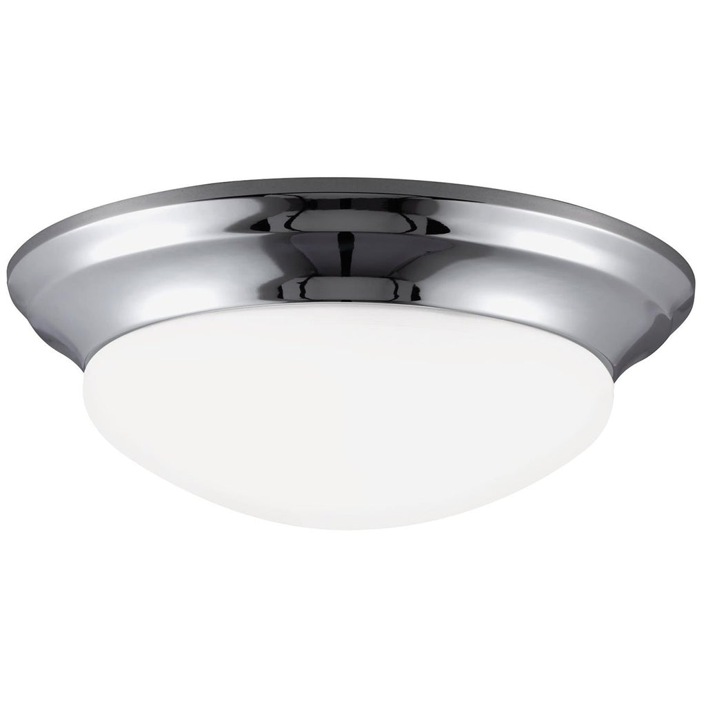 Sea Gull Lighting Nash Contemporary Three Lights Ceiling Flush Mount