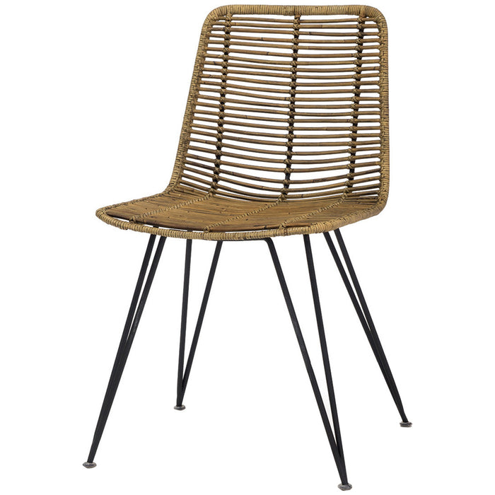 Palecek Hermosa Side Chair - Natural