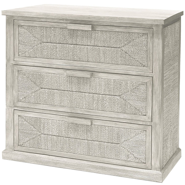 Palecek Santa Barbara Chest, White Sand