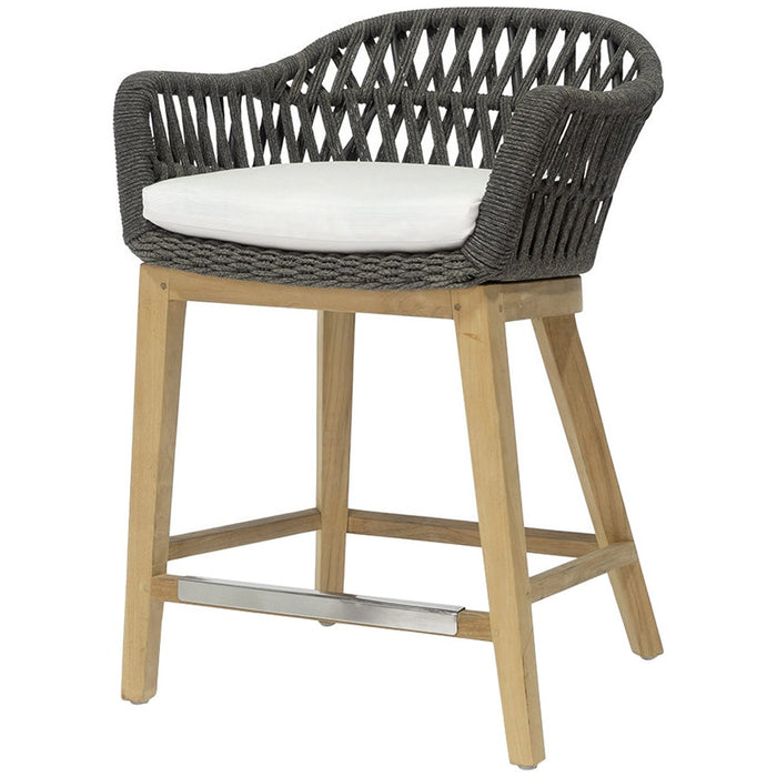 "Palecek Napoli Outdoor 24"" Counter Stool"