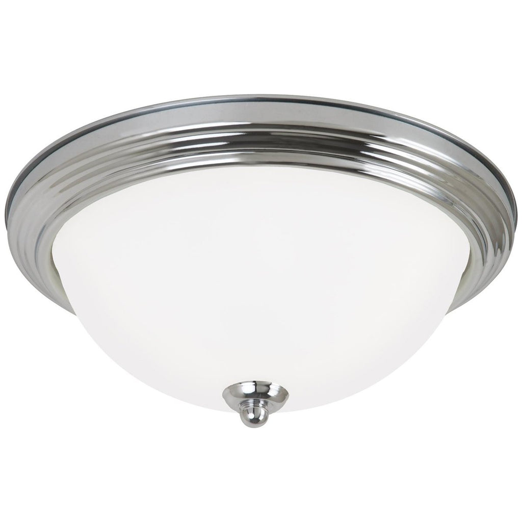 Sea Gull Lighting Geary 2-Light Ceiling Flush Mount