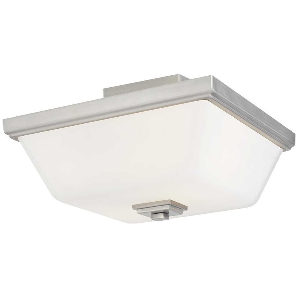 Sea Gull Lighting Ellis Harper 2-Light Semi-Flush Mount - 9.5W