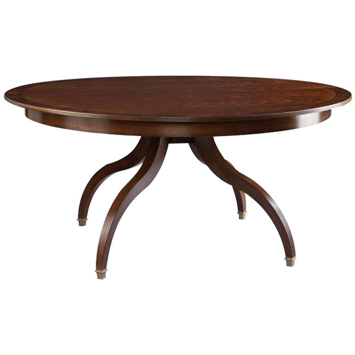 Hickory White Innovation Round Newport Dining Table