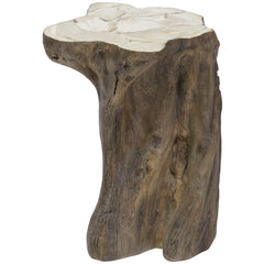 Palecek Chloe Fossilized Clam Stump Table