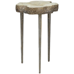 Palecek Chloe Fossilized Clam Side Table